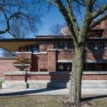 Frank Lloyd Wright's Prairie Style House